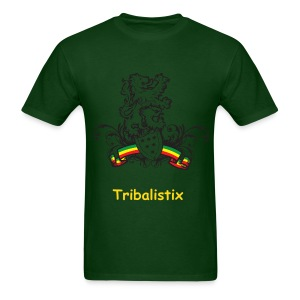 Green Shield Tribalistx - Men's T-Shirt