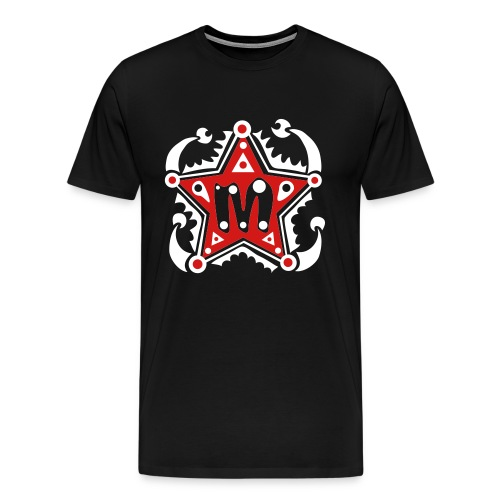 Name - Initials M - Type - Letter - Birthday - Gift - Star - Unique - Design - Fashion - Men's Premium T-Shirt