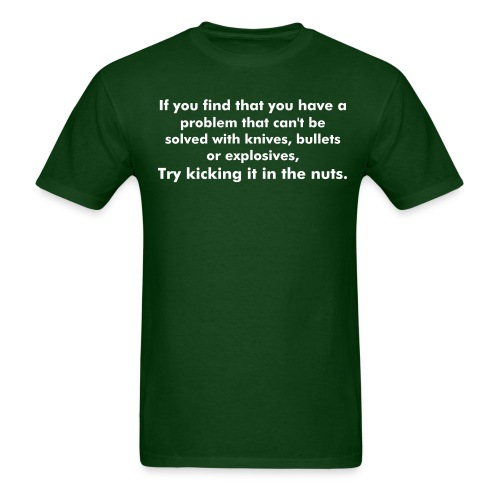 ...can't be solved... - Men's T-Shirt