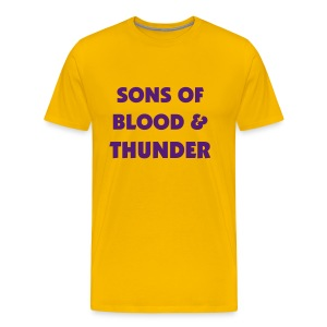 Omega Man: Blood and Thunder - Men's Premium T-Shirt