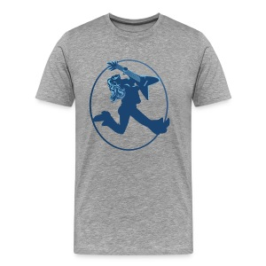 iROCK circle - Men's Premium T-Shirt