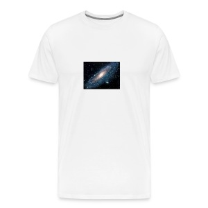 Andromeda galaxy - Men's Premium T-Shirt