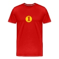 Red number 1 (1c) T-Shirts