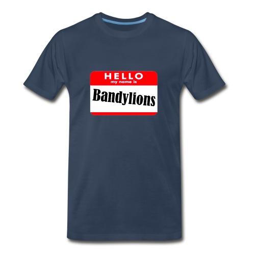 Hello my name is Bandylions - Men's Premium T-Shirt