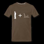 T-Shirts ~ Men's Premium T-Shirt ~ Man + Page 3XL (on Dark Choice)