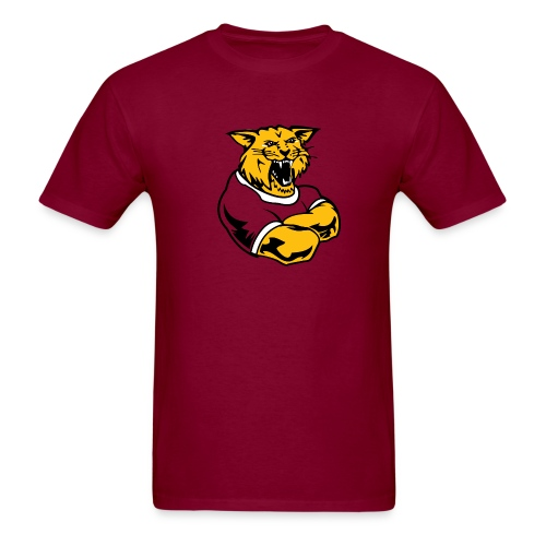 Custom Team Mascot - Men's T-Shirt