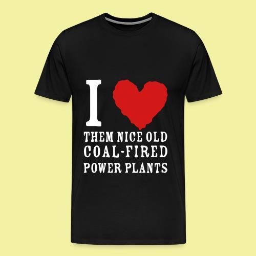 Coal is not the answer - Men's Premium T-Shirt