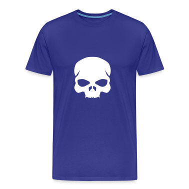 Royal blue skull T-Shirts