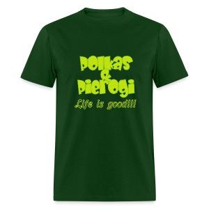 Polkas & Pierogi - Men's T-Shirt