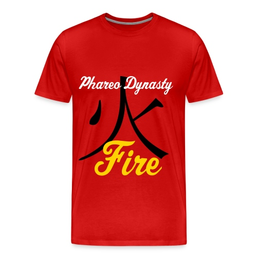Phareo Fire Element Tee - Men's Premium T-Shirt