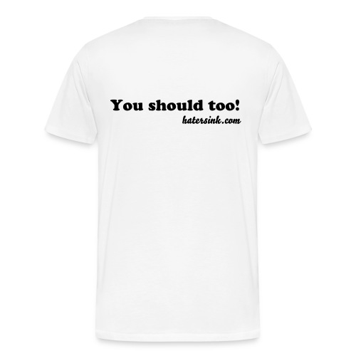 I hate NHL referees..you shoud too! - Men's Premium T-Shirt