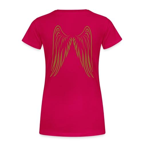 Plus PnkLogo - Women's Premium T-Shirt