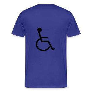 Handicapable - Men's Premium T-Shirt