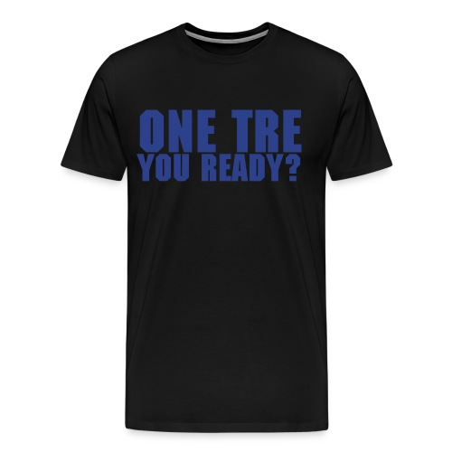 One Tre Black - Men's Premium T-Shirt