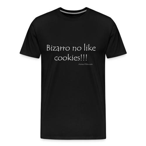 3XL Bizarro no like cookies!!! - Men's Premium T-Shirt
