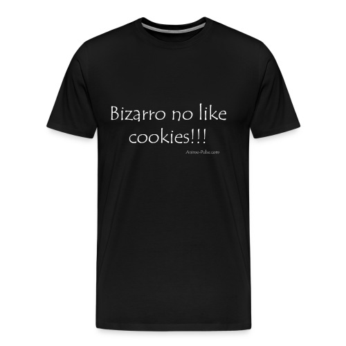 3XL Bizarro no like cookies!!! - Men's Premium T-Shirt