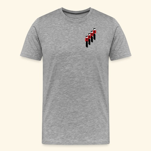8-Bit-Manmachines - Men's Premium T-Shirt