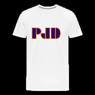 T-Shirts ~ Men's Premium T-Shirt ~ 1980's PJD Logo