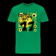 T-Shirts ~ Men's Premium T-Shirt ~ Birthday Shirt 17 Years - Happy Birthday Design - Special present - Geburtstag Shirt