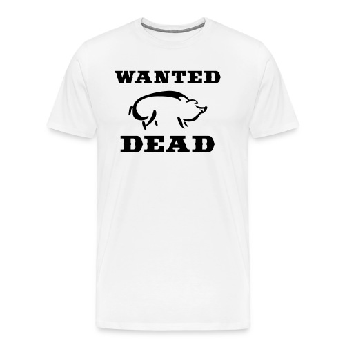 Wanted Dead - Hogs - Men's Premium T-Shirt