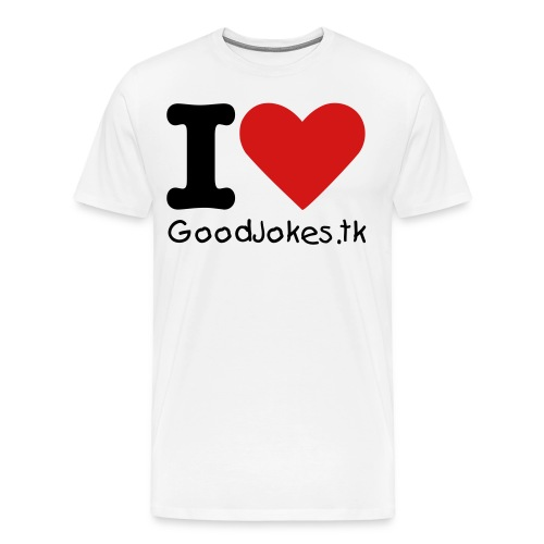 I Heart GoodJokes.tk Boys - Men's Premium T-Shirt