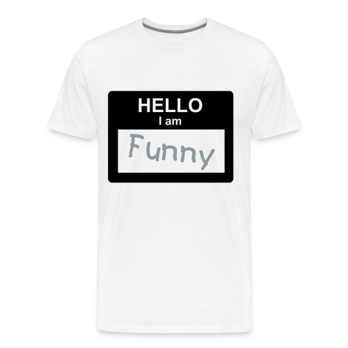 My Name Is Funny T-Shirt - Men's Premium T-Shirt