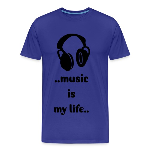 Men's music Tee - Men's Premium T-Shirt
