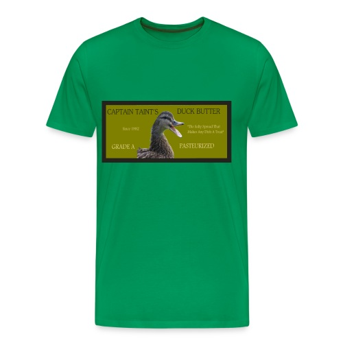 Captain Taint's Duck Butter - Men's Premium T-Shirt