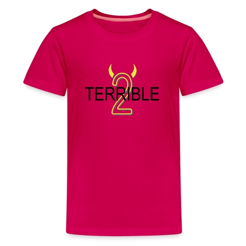 Terrible 2 - Classic Tee (dark pink) - Kids' Premium T-Shirt