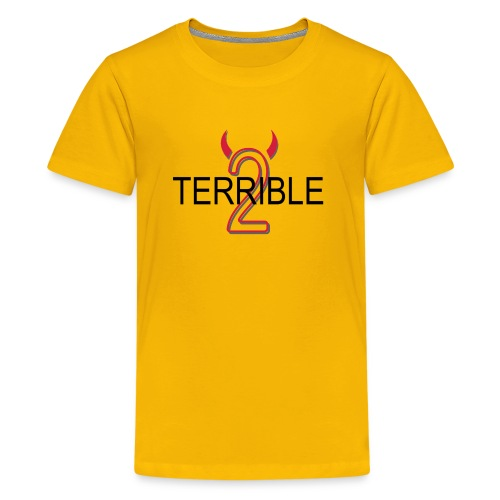 Terrible 2 - Classic Tee (yellow) - Kids' Premium T-Shirt