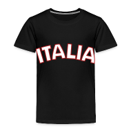 Baby & Toddler Shirts ~ Toddler Premium T-Shirt ~ Toddler Italia, Black