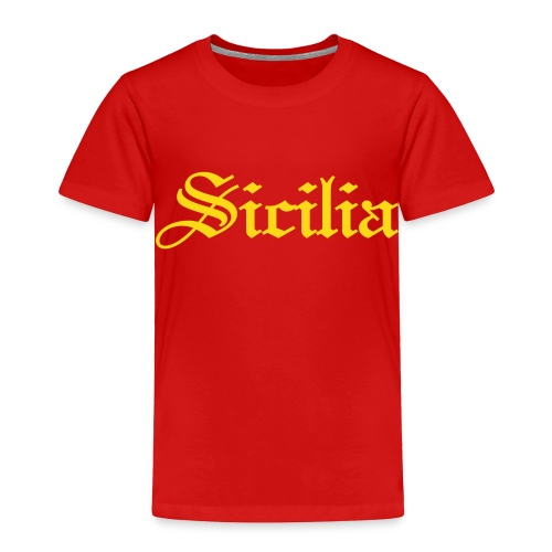 Toddler Sicilia Gothic, Red - Toddler Premium T-Shirt