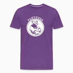 Purple Panthers Dark Team Graphic T-Shirts