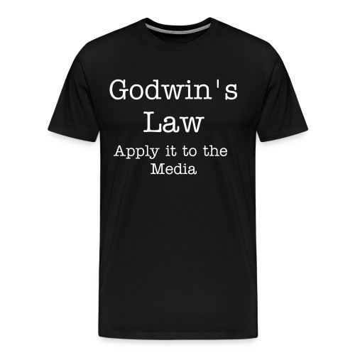 Godwin's Law Men's Shirt - Men's Premium T-Shirt