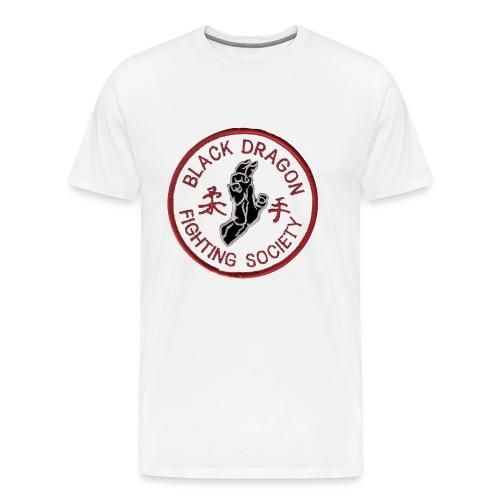 white_on_black - Men's Premium T-Shirt