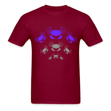Burgundy Crabs T-Shirts