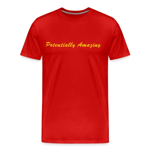 Red Potentially Amazing - Men's Premium T-Shirt