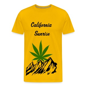 California Sunrise - Men's Premium T-Shirt