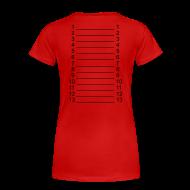 T-Shirts ~ Women's Premium T-Shirt ~ I`m a Hairlista Plus Size Length Shirt SL +