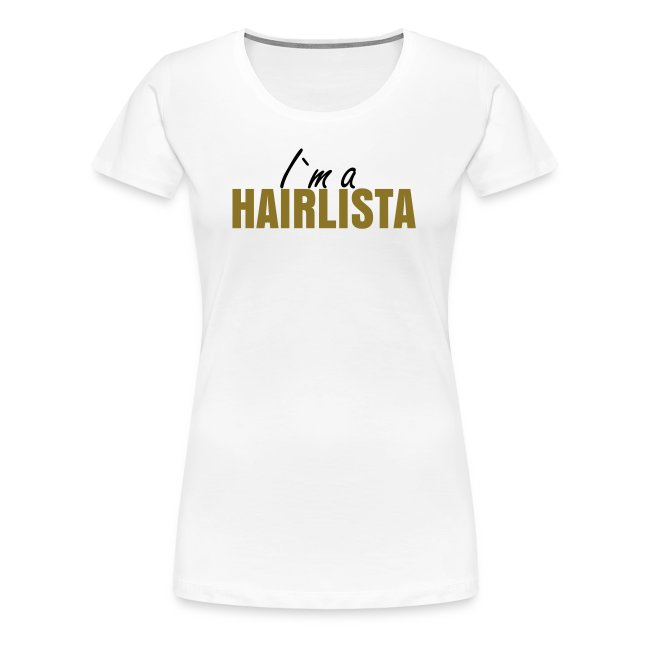 I`m a Hairlista Plus Size Length Shirt APL+
