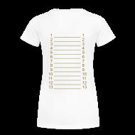 T-Shirts ~ Women's Premium T-Shirt ~ I`m a Hairlista Plus Size Length Shirt APL+