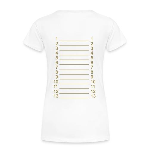 I`m a Hairlista Plus Size Length Shirt APL+ - Women's Premium T-Shirt