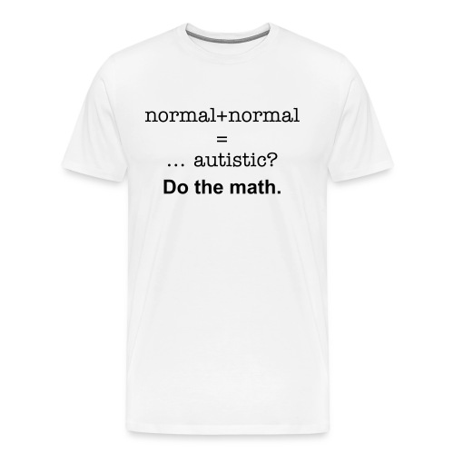 Genetics and Autism (mens) - Men's Premium T-Shirt
