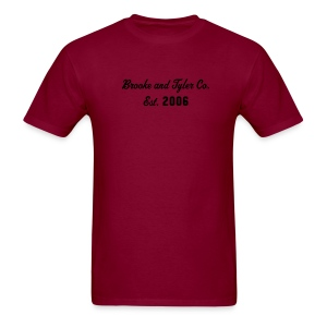 Brooke and Tyler Masculine Signature T. ON SALE! ORG- 19.50 - Men's T-Shirt