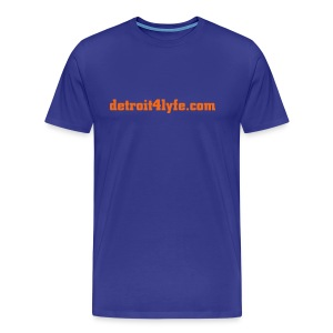 detroit4lyfe.com - Men's Premium T-Shirt