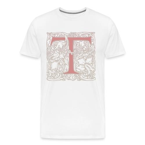 Subtle T Natural - Men's Premium T-Shirt