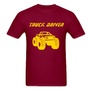 T-Shirts ~ Men's T-Shirt ~ Yoder Drives Trucks