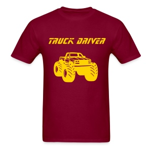 Yoder Drives Trucks - Men's T-Shirt