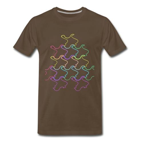 Tesselation 1 - Men's Premium T-Shirt
