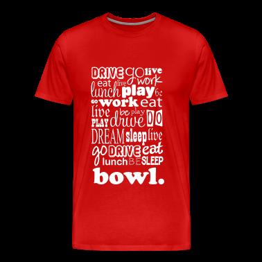 Bowling Sports Life white